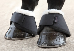 Shires Arma Fleece Trimmed Over Reach Boots (RRP £24.99)