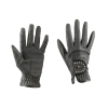 Dublin Diamante Patent Dressage Riding Gloves