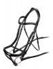 Shires Velociti Ergonomic Curved Flash Bridle (RRP £114.99)