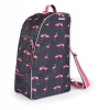 Shires Pink Flamingo Print Boot, Hat & Whip Bag