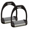 Shires Stirrup Irons With Metal Treads ('Cheese Graters')