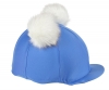 Shires Double Pom Pom Lycra Hat Cover