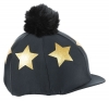 Shires Glitter Star Lycra Hat Cover