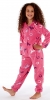 Kids Horse Print Fleece Onesie