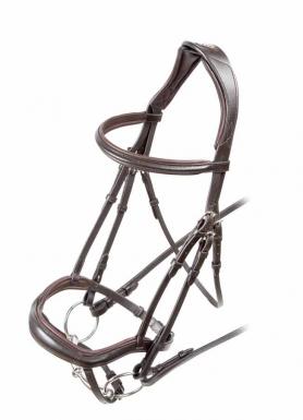 Shires Velociti Ergonomic Flash Bridle (RRP £73.99)