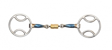 Shires Blue Sweet Iron Bevel With Roller Link