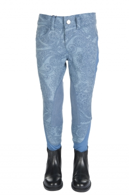 HKM Princess Denim Girls Breeches (RRP £43.95)
