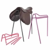 Shires Collapsible Saddle Stand (Black, Pink & Purple)
