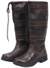 Saxon Tall Leather Country Boots (RRP �79.99)